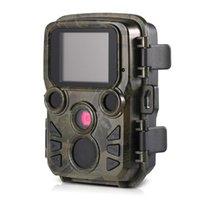 Câmaras de caça IP66 Jogo de câmera 12MP 1080P Mini Fruta Ao Ar Livre Wildlife Scouting com Sensor PIR 0.45s Fast gatilho Chasse