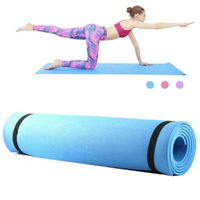 20216mm Thick EVA Foam Yoga Mat Non Slip Pilates Exercise Fitness 68X24 Inch Equipment Gym Home Mats