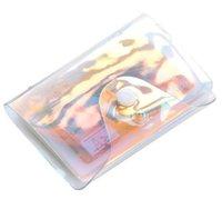 Sac de titulaire de carte de crédit PVC transparent PVC Femmes Organisateur Portefeuille Fashion Clear Passport Cartes de stockage CCF6131