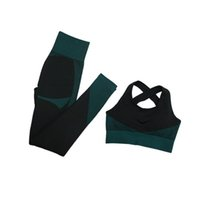 Formar leggings Trajes de fitness Trajes de yoga Mujeres 3 unids Conjuntos de manga larga + SPORT BRA + PRINCIPAL DE ENTRENAMIENTO EJECUTANDO ROPA DE ROPAJE DE ROPA DE ROPAJE
