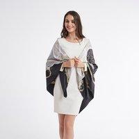 Scarves Mulberry Scarf Women Silk Luxury Shawl Beach Cover-ups Bandana Hijabs Bufand De Seda Foulard En Soie Solar Playa