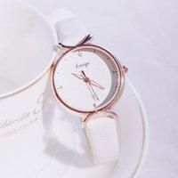 Wristwatches Luxury Women Dress Watches Women's Fashion Leather Ladies Watch Simple Female Quartz Clock Mujer Bayan Kol Saati