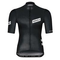 2021 Pro Morvelo 팀 남성 여름 통기성 자전거 짧은 소매 유니폼 도로 레이싱 셔츠 자전거 탑 야외 스포츠 Maillot S21042608