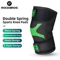 ROCKBROS Leg Warmers Sport Knee Pads Basketball Kneepad Cycling Protective Gear Knees Pad Spor Protector