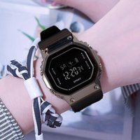 Wristwatches Sports Men's Watches And Women's 2021 Summer Outdoor Square Luminous Fashion Multi-function Electronic Watch