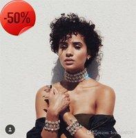 Luxo Rhinestone Cristal Gargantilha Colar Fashion Moda Declaração de Personalidade Colares Chuny Pescoço Acessórios Fine Jewelry A063
