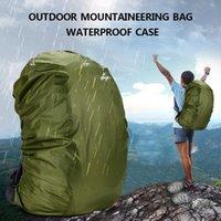 Sacos ao ar livre 35l mochila capa de chuva à prova d 'água saco camo camping caminhadas escalando anti-poeira raincover rafting armazenamento ajustável