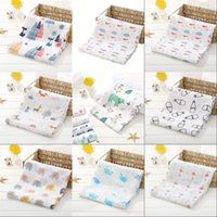 بطانيات الطفل الوليد قماط البطانيات القطن الرضع الشاش حفاضات القماش بطانية منشفة 1025 x2