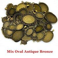 Encantos Wecharms a granel para el kit de fabricación de joyas Colgante DIY Accesorios Mix Cabochon Base Ajuste