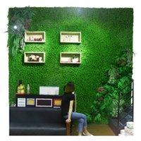 40x60cm artificial relva jardim decorações grama tapete pet plástico grosso grama grama grama micro paisagem rrd6804