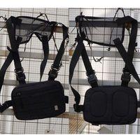 Кнопка Metal 1017 Alyx 9sm Функциональные тактические сундуки High Street 2 Пряжки сумка Kanye West Men рюкзаки рюкзаки талии