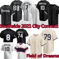 Southside 2021 City Connect Chicago Baseball Jerseys Luis Robert Jersey Michael Kopech Eloy Jimenez Tim Anderson Yoan Moncada Jose Abreu Frank Thomas Lucas Giolito
