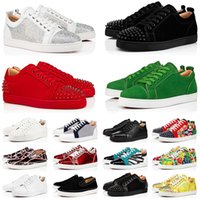CL  Red Bottom Shoes Low Cut Platform Sneakers Men's Women's Luxurys Designers Vintage Bottoms Loafers Fashion Spikes Party Luxury Casual Trainers Jogging Walking