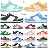 2021 Dunt Varsity Мужчины Женщины Повседневная Обувь Чикаго Зеленый светлый Белый Черный Вишневый Сиракьюс ЮНМ побережье Конфеты Данс Оранжевые Жемчужные Мужские кроссовки Безвозмездная