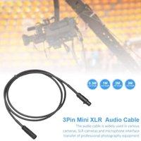 Connettori Audio Cavi 3pin Mini XLR maschio a femmina cavo SA105 per varie fotocamere Professional Plagograph Attrezzature per microfono