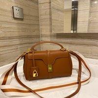 Designer fashion ladies shoulder bag 2021 luxury big-name trend handbag simple counter elegant shopping leather backpack factory sales discount price