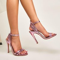 Women Shoes High Heels Bright Color Ladies 2021 Summer Style...