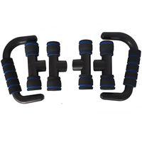 1 Paar I-Typ-Push-up-Bar-Ständer-Push-Brust-Bar-Griffe Griffstangen Fitness-Gym-Muskelausbildung Push-ups für Body Building 1486 Z2