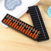 DHL 학업 장난감 15 자리 봉 표준 Abacus 소 러 바얀 중국어 일본 계산기 계산 도구 수학 초보자 caculation