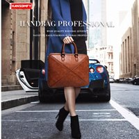 "HBP 2020 جديد إمرأة حقيبة 14 ""محمول الكمبيوتر حقيبة يد جلدية أنثى الكتف دفتر رسول حقيبة رقيقة قسم الأعمال Q0112"