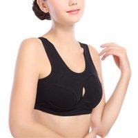 Bras Women Cotton Front Cross Sport Yoga Bra Running Underwear Shockproof Gym Fitness Brassiere