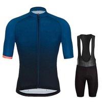 Летний велосипед Велоспорт Одежда мужская с коротким рукавом набор велосипеда одежда