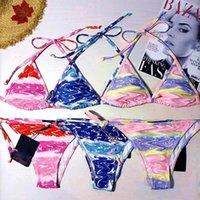 패션 럭셔리 여성 수영복 비키니 세트 여러 가지 빛깔의 여름 시간 해변 수영복 바람 수영복 높은 품질 준비
