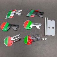 3D Metal Araba Sticker Amblemi Oto Rozeti Çıkartması Jaguar R S Logo X-Tipi F-Tipi S-tipi XE XF XJ XK XJR XFR Araba Aksesuarları