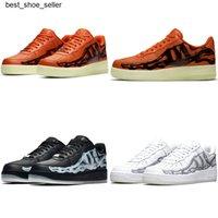 2020 Новый выпуск скелет Хэллоуин кости ночной светильник видимый скейтборд обувь мужские низкие 1 черные белые оранжевые ведущие дизайнерские женские кроссовки