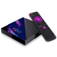 H96 Mini V8 Android 10.0 TV Box 2 + 16GB RK3228A رباعية النواة 10/100 متر 2.4GZ واي فاي تعيين أعلى استقبال