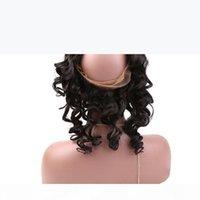 """Brésilien Vierge Humain Hair 360 Dentelle Corps de dentelle 22x4x2 """"Loose Wave 100% Remy Cheveux humains Teins Fermeture Couleur naturelle Bellahair"""
