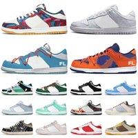 Schuhe Off White x Nike Sb Dunk Low Turnschuhe Abstract Art Chunky Dunky Off Dusty Olive What The UNC Coast Easter Herren Damen Laufschuhe