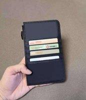 Mulheres Mobile Phone Bolsa Com Zíper Bolso Carteira Luxo VIP Presente de Couro Bolsa de Cartão de Crédito Feminino Designers Nome do Card Cartão Melhor Estilo Zero Bolsa