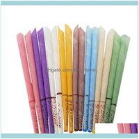 Candles Décor Home & Gardenindian Natural Aromatherapy Bee Wax Auricular Therapy 8 Colors Coning Brain Ear Care Candle Sticks Drop Delivery