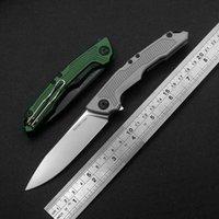 Nimoknives & Fatdragon 8 Pocket Quick Opening Hunting Folding Knife Blade CR12Mo1v1 Original Design Outdoor Portable EDC multifunctional cutting tools