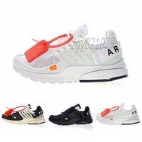 Top Quality Off Presto V2 BR TP QS Black X White X Chaussures de course Athlétiques The 10 Airs Coussins Prestos Sports Sports Femmes Entraîneur Sneakers 36-46 C56