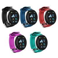 D18 Smart band Bracelet Color Touch screen D18S Wristbands Tracker SmartWatch Blood Pressure Wristband IP65 Waterproof Heart Rate Men Women vs Mi Bands