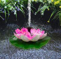 Pool & Accessories Mini Solar Water Fountain Pond Waterfall Garden Decoration Outdoor Bird Bath Powered Drop
