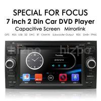 Joueur Navire de Pologne No-Taxes 2Din Car DVD GPS NAVI STEREO RADIO AUDIO POUR FOCUS 2 MONDEO S C Max Fiesta Galaxy Connect