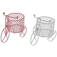 Cute Iron Tricycle Art Decoration Wedding Sugar Jewelry Container Storage Holder Gift Wrap
