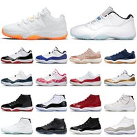 11 tênis de basquete jumpman 11s para homens Jubileu 25º aniversário preto branco masculino feminino tênis esportivos tamanho 5,5-13 Com caixa