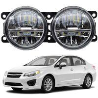 2pcs LED Fog Light For Subaru Impreza Car Front Bumper Fog Lamp DRL 30W 12V