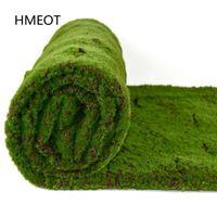 Decorative Flowers & Wreaths Artificial Moss Plants Lawn Wall Turf Grass Carpet Mat Roll Decor For Outdoor Room Home Shop Wedding Garden Mic