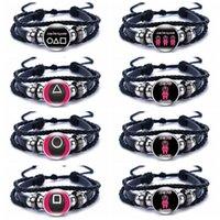 Braccialetto di calamaro del braccialetto del braccialetto dei braccialetti del triangolo multi del braccialetto dei braccialetti dei braccialetti delle donne