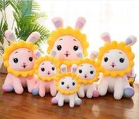 Bunny Puppe Gefüllte Spielzeug Kreative Schöne Sonnenblume Home Kissen Kinder Geburtstagsgeschenk