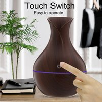 Fragrance Lamps USB Large Spray Humidifier Creative Small Vase 130ML Ultrasonic Air Aroma Essential Oil Diffuser Household Car CD