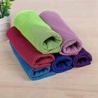 90 * 30 cm asciugamano freddo da viaggio asciugamani da spiaggia a secco rapido microfibra per yoga campeggio golf calcio sport all'aperto