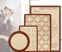 Grand kit de tapis de cuisson en silicone avec de la mesure antidérapante antidérapante antidérapante antidérapable Food Food Food Safe Cafe de cuisson Cuisson BWA5502