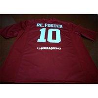 # 10 Reuben homens baratos foster alabama maré carmesim top de alta qualidade vermelho preto branco colégio jersey ou personalizado qualquer nome ou número jersey