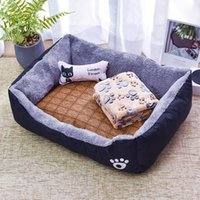 Cat Beds & Furniture Dog Mats Pet Products Accessory Winter Bed House Supplies Of Large Labradors Washable Bed Mats Goods For Small Mat